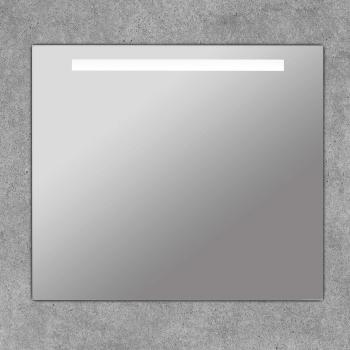 Espejo con led de baño cuadrado con franja luz Portia