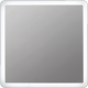 Espejo con doble tira led retroiluminado franja 4cm Helena