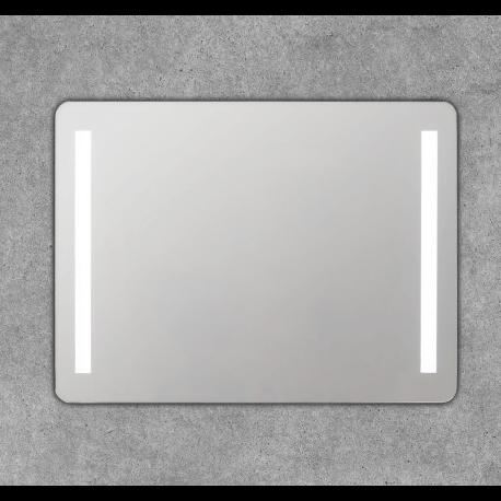 Espejo led con dos franjas de luz laterales Tebe