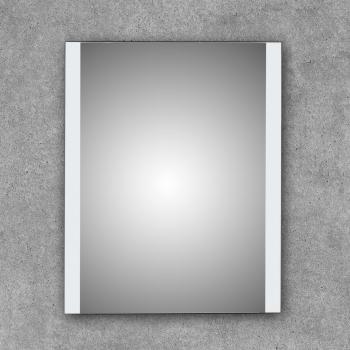 Espejo de baño cuadrado con luces leds laterales Kari