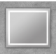 Espejo led de baño con luz frontal cuadrado Dione