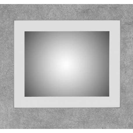 Espejo con doble tira led retroiluminado franja 10cm Laris