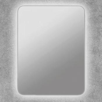 Espejo baño con luz led retroiluminado con cantos redondos Tabit