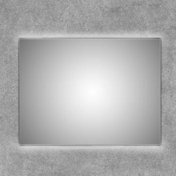 Espejo con luz led retroiluminada arriba y abajo Tarvos