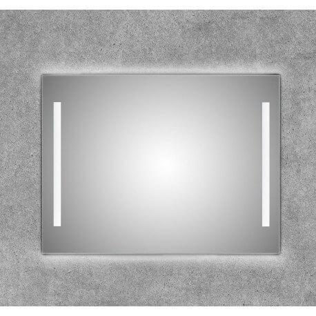 Espejo con doble tira led frontal lateral y retrouliminado superior e inferior Roxan